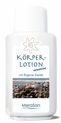 MeraSan Körperlotion sensitive parfümfrei